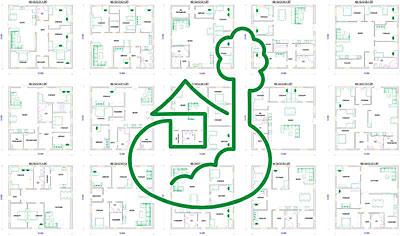 проект дома 12 х 12 м