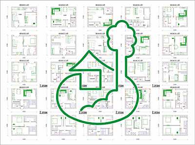 проект дома 6 х 8 м