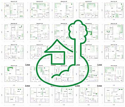 проект дома 8 х 10 м