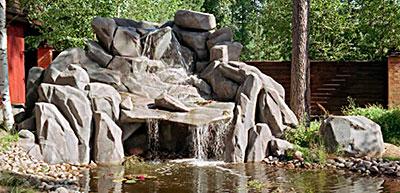шикарный водопад