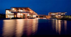 Проект дома: вилла GetAway с бассейном