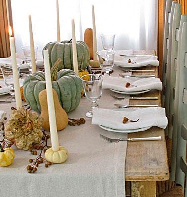 идеи декорирования стола
