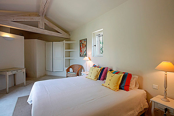 спальня на вилле