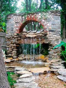 Проект дома: 37 идей водопадов в саду