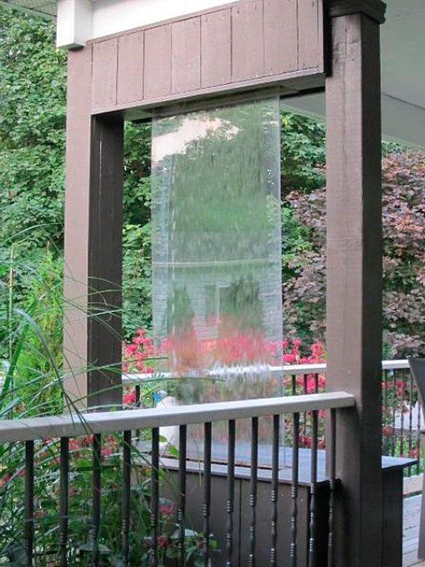 декоративный водопад для сада
