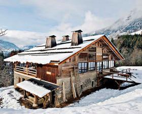 Интерьер в стиле шале— Альпы