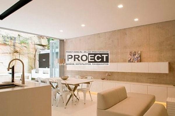 проект дома   столовая