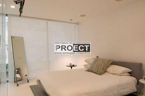 проект дома   спальня
