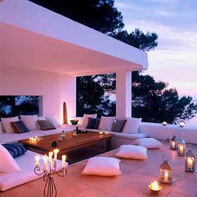 Патио на даче— комфортный отдых и приятное времяпровождение