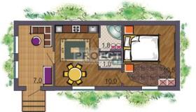 Небольшой дачный домик для Вашего участка