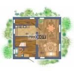 Компактный дом с мансардой, как экономичное решение для Вашего участка