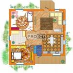 Проекты одноэтажных кирпичных домов построенных по старой традиции