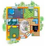 Проект дома 9 х 9 позволит построить прекрасное жилье на небольших участках