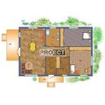 Проект одноэтажного дома под ключ, отличное вложение в собственный актив