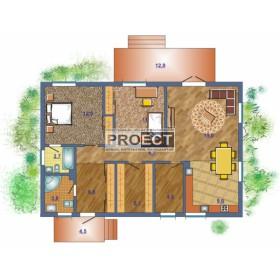 Одноэтажный кирпичный дом для Вас и Вашей семьи