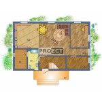 Проект двухэтажного дома из кирпича, идеальный вариант для большой семьи