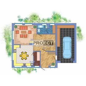 Замечательные проекты кирпичных домов с гаражом