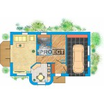 Проекты каркасных домов с гаражом по привлекательной цене