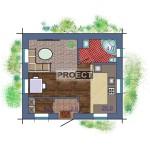 Небольшой загородный домик по доступной цене