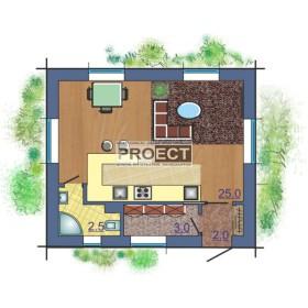 Сложно построить дом на узком участке земли, но можно...