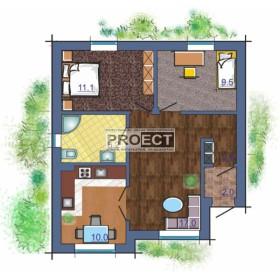 Компактный дом чарующий своей функциональностью