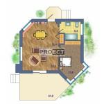 Одноэтажный дом с террасой прекрасно впишется в любой ландшафт