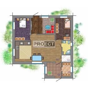 проект дома до 100 кв.м.— отличная альтернатива квартире