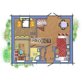 Уютный дом с мансардным этажом, как идеальное решение