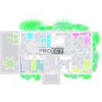 Проект одноэтажного коттеджа с террасой для отдыха