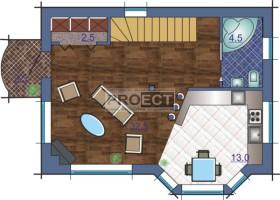 Современная планировка дома для Вашего участка
