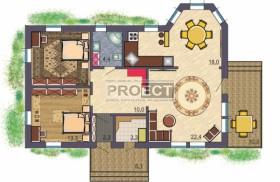 Проект частного одноэтажного дома для Вашего участка