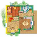 Проекты кирпичных домов с мансардой всегда пользующие большим спросом