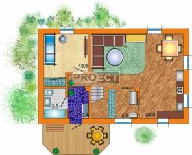 Проекты узких домов с мансардой для проживания большой семьи до 5-6 человек