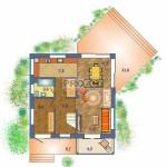 Проект двухэтажного дома, является идеальным вариантом для семьи любящей комфорт