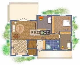 Проект одноэтажного жилого дома для Вашей семьи
