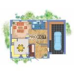 Проекты домов с гаражом фото планировки и модели в 3D