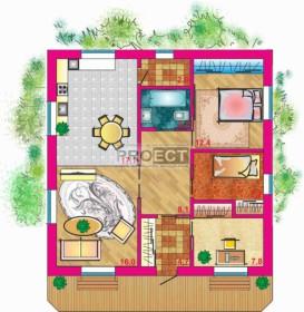 Индивидуальный проект загородного дома по цене типового