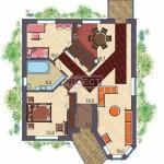 Проект красивого одноэтажного дома на Вашем участке