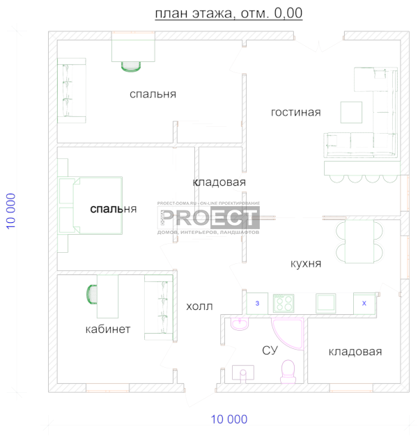 планировка дома | квартира или дом