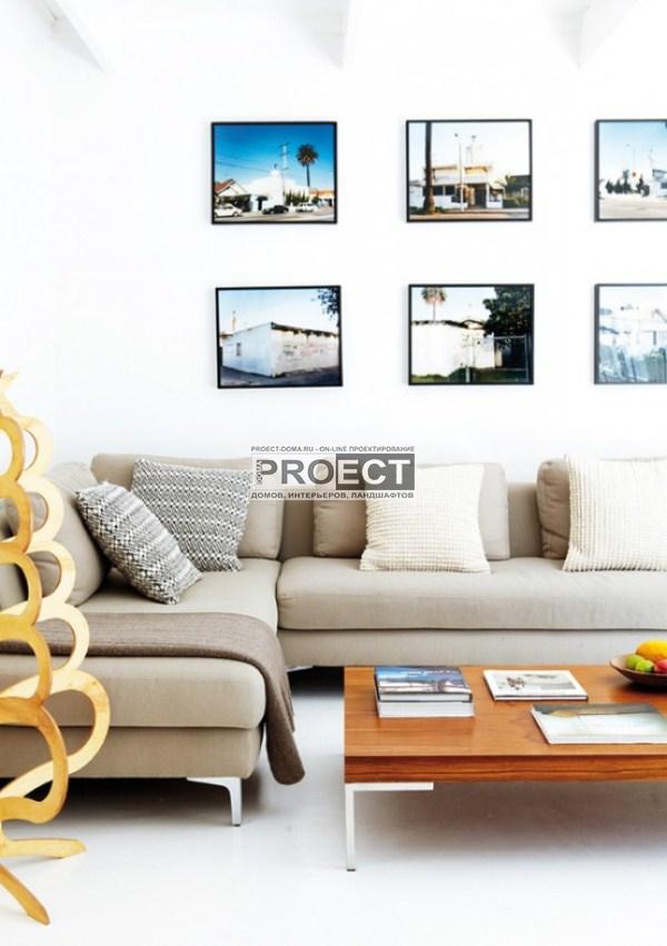 современный дом | декор стен | светлая гостиная