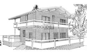 Проект дома— энергоэффективный дом в стиле шале, коэффициент энергосбережения R=6.0, г. Ростов-на-Дону