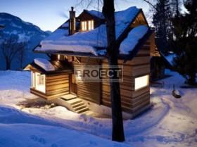 Небольшой уютный домик в стиле шале