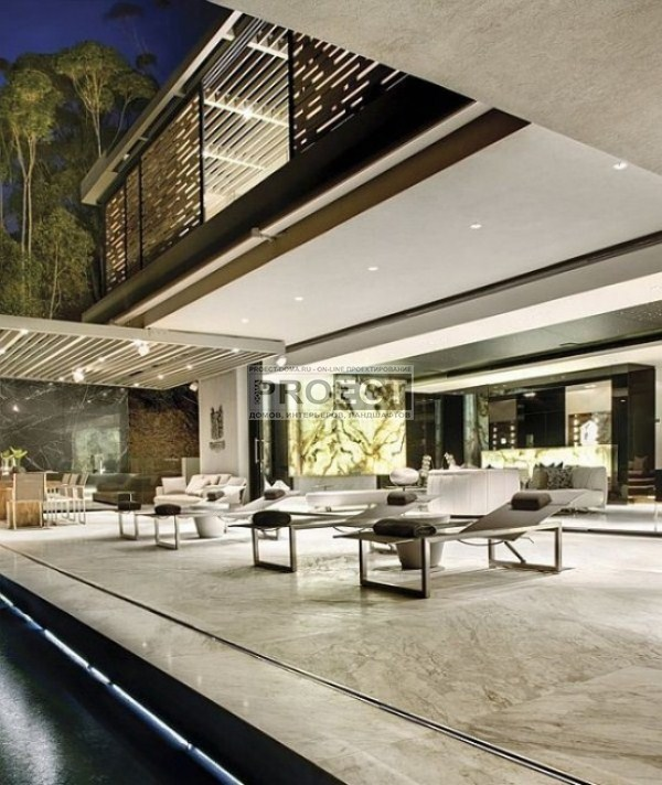 luxury-residence | роскошная резиденция | фасад дома | терраса