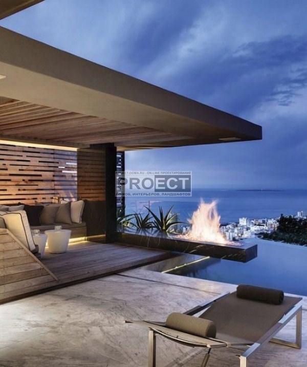 luxury-residence | роскошная резиденция | фасад дома  | бассейн инфинити