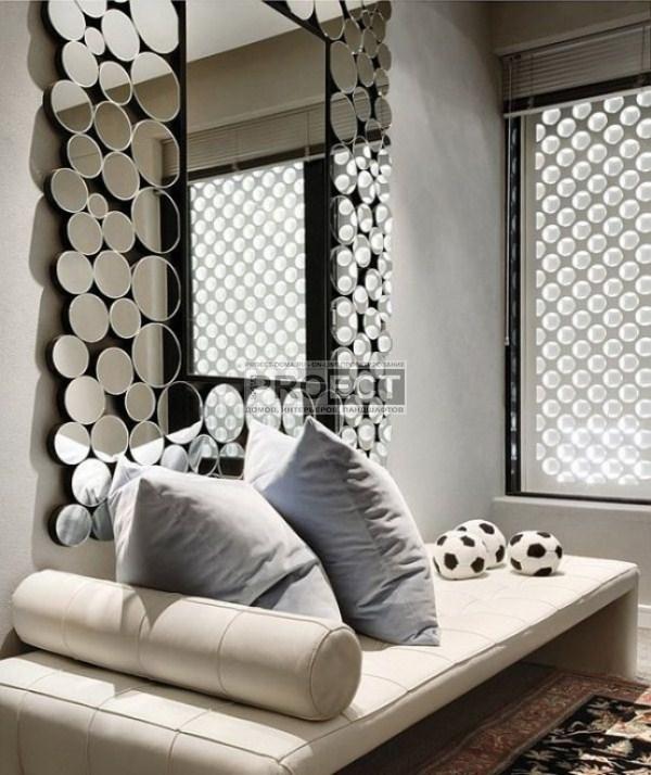 luxury-residence | роскошная резиденция | фасад дома | зеркало