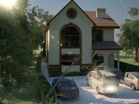 Проект частного дома в Батайске, коэффициент энергосбережения R=5.0, г. Батайск