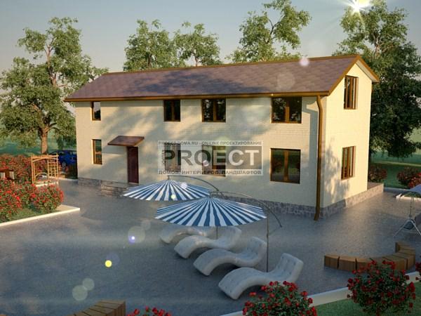 Проект частного дома для молодой семьи | строительство дома своими руками