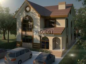 Проект частного дома, коэффициент энергосбережения R=5.0, г. Батайск