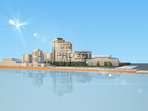 проект многоэтажного жилого дома | проект многоэтажного дома | проект офисного здания | 3D визуализация