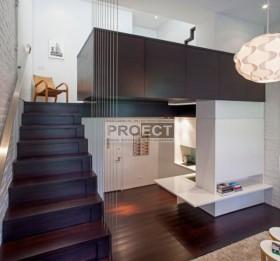 Многоуровневый лофт, идея для жизни в пространстве на 40 кв. м?